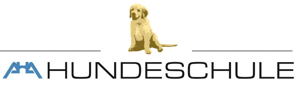 Logo der AHA Hundeschule